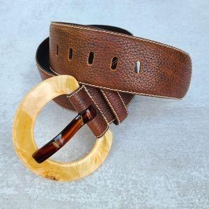 Accessories - Bohemian leather belt